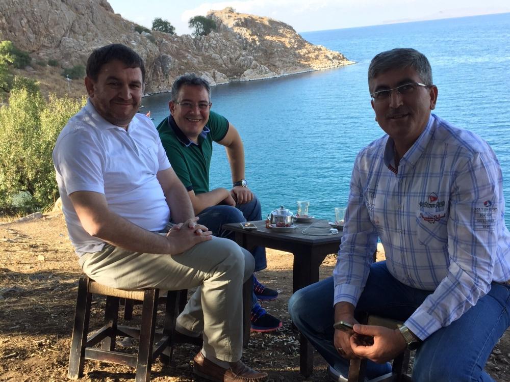 Konyalı gazeteciler Van ziyareti 19