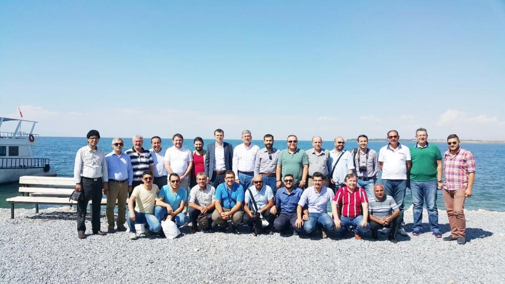 Konyalı gazeteciler Van ziyareti 2