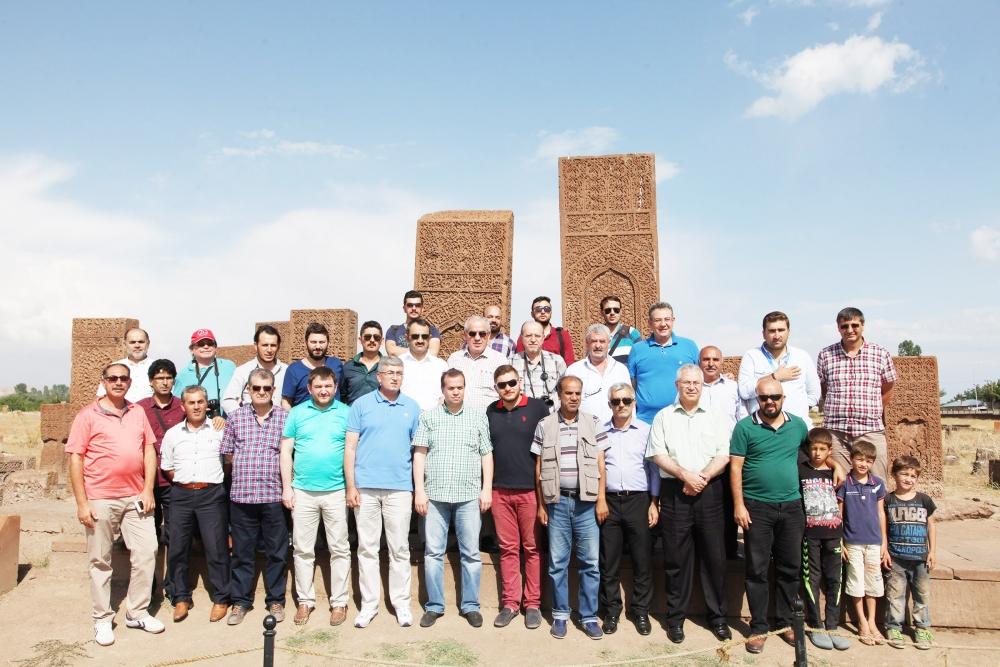 Konyalı gazeteciler Van ziyareti 3