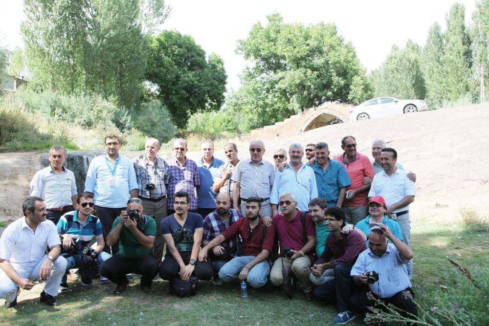 Konyalı gazeteciler Van ziyareti 5