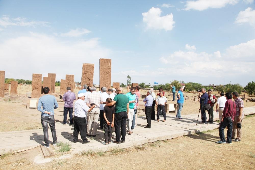Konyalı gazeteciler Van ziyareti 6