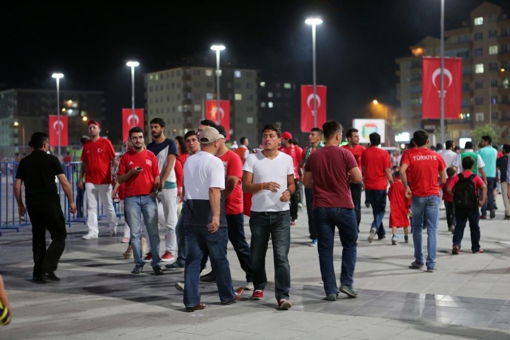 Konya'dan millilere muhteşem destek 1