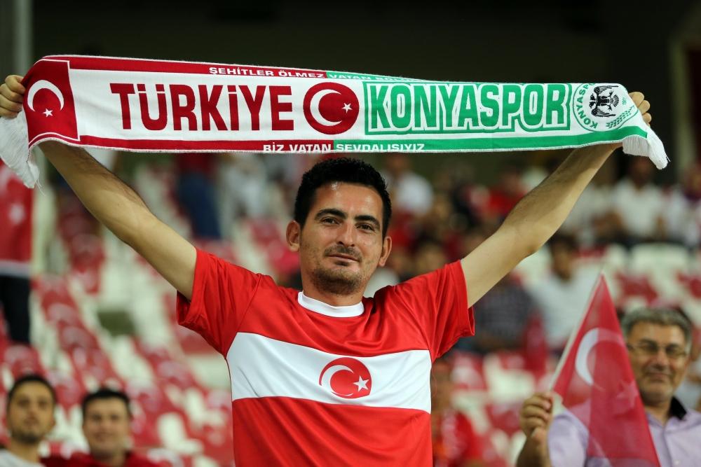 Konya'dan millilere muhteşem destek 27