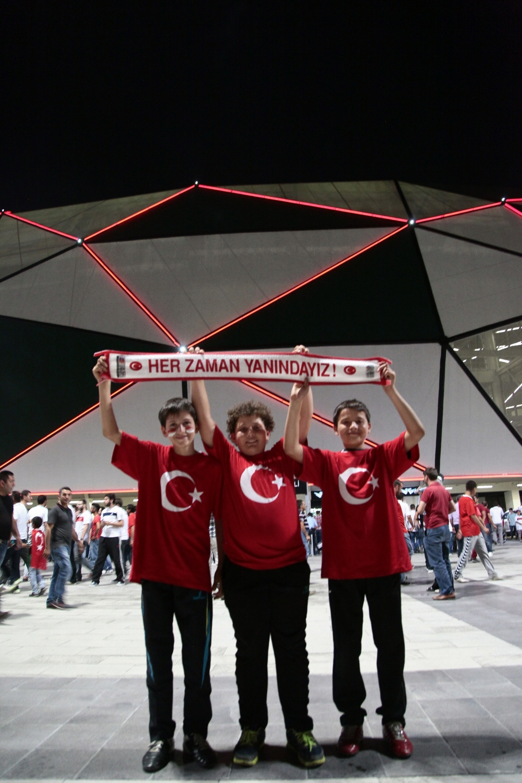 Konya'dan millilere muhteşem destek 28