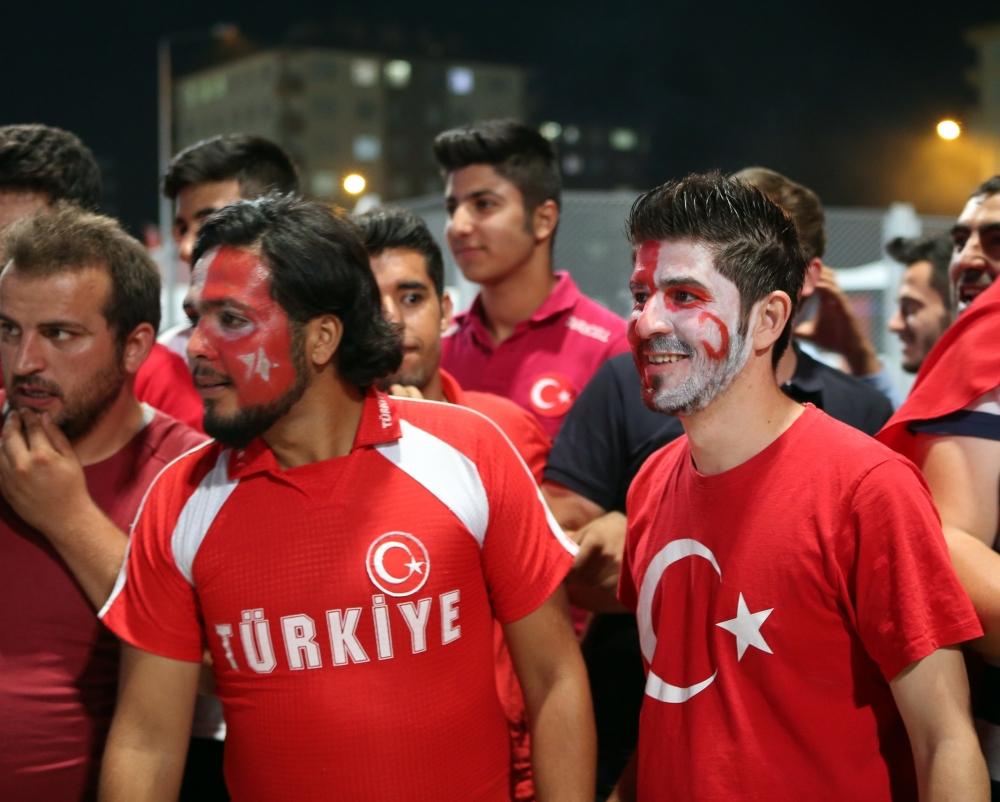 Konya'dan millilere muhteşem destek 3