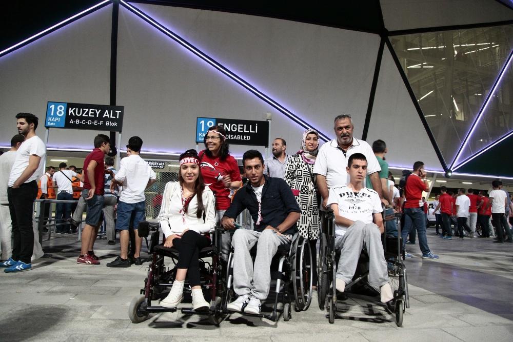 Konya'dan millilere muhteşem destek 30