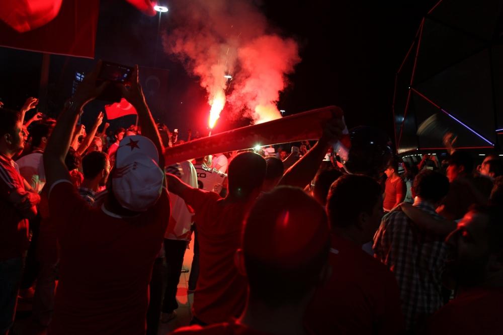 Konya'dan millilere muhteşem destek 33