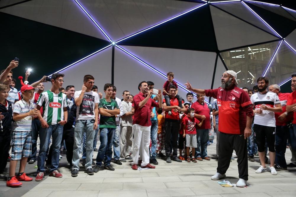 Konya'dan millilere muhteşem destek 4