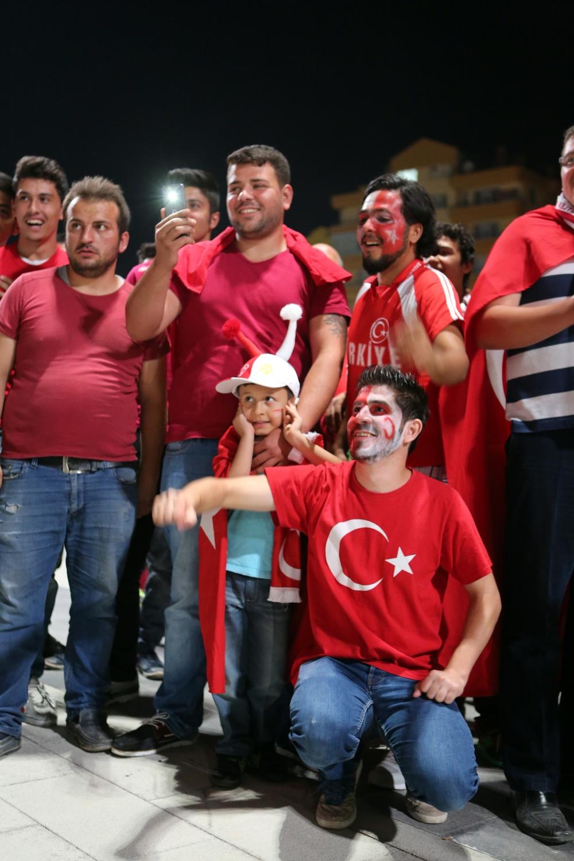 Konya'dan millilere muhteşem destek 5