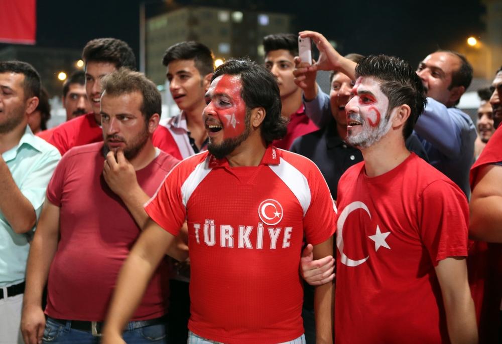Konya'dan millilere muhteşem destek 6