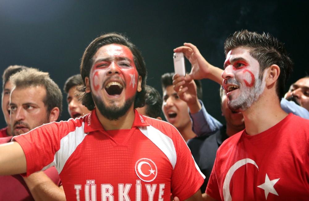 Konya'dan millilere muhteşem destek 7