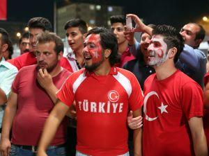 Konya'dan millilere muhteşem destek
