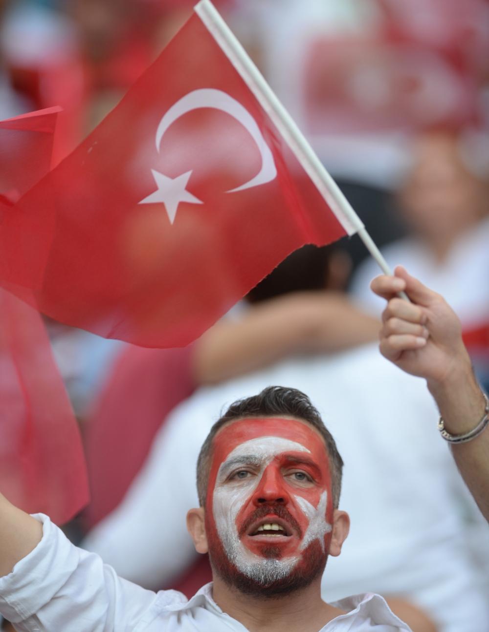 Konya'da millilere müthiş destek 12