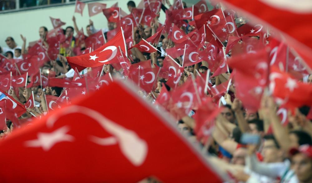 Konya'da millilere müthiş destek 15
