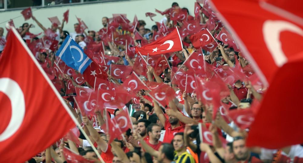 Konya'da millilere müthiş destek 16