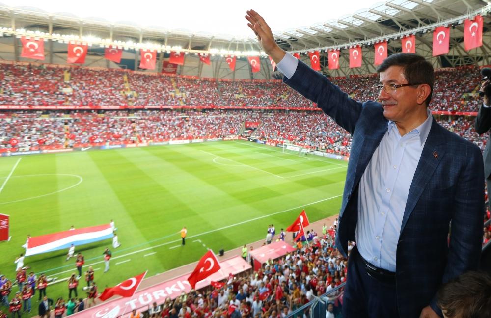 Konya'da millilere müthiş destek 19