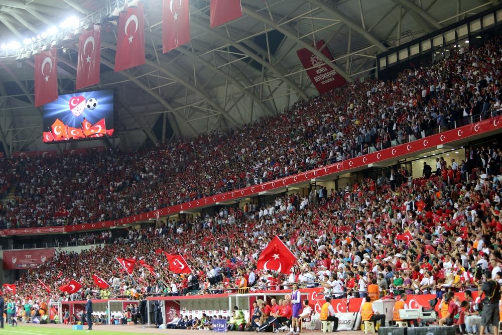 Konya'da millilere müthiş destek 26