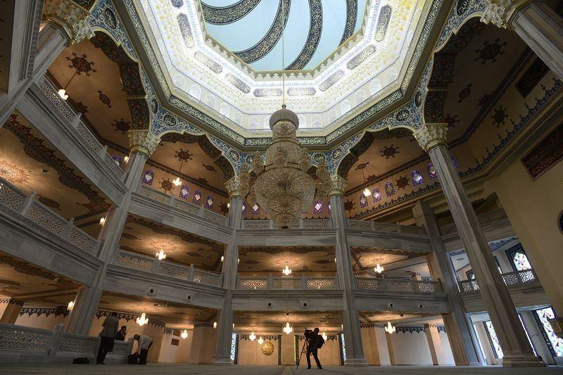 Moskova Camisi'nde Osmanlı izleri 1