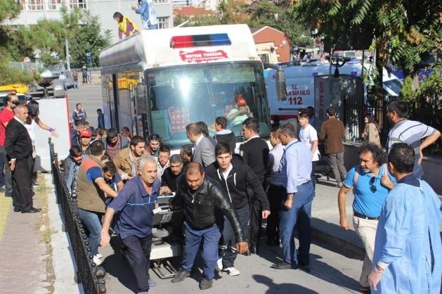 Ankara'da büyük patlama: Olay yerinden görüntüler 10