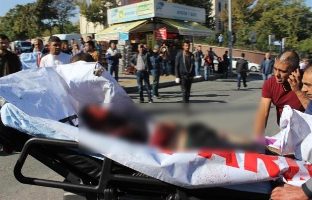 Ankara'da büyük patlama: Olay yerinden görüntüler 11