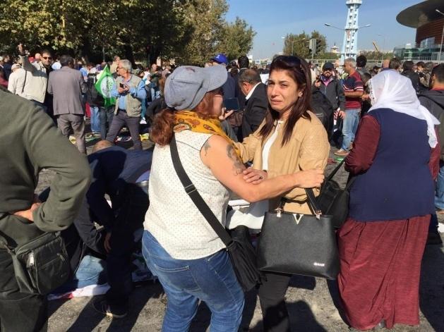 Ankara'da büyük patlama: Olay yerinden görüntüler 2