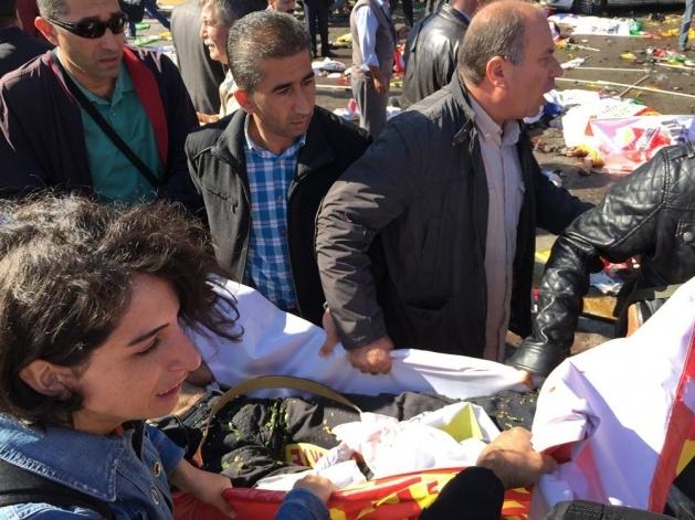 Ankara'da büyük patlama: Olay yerinden görüntüler 3