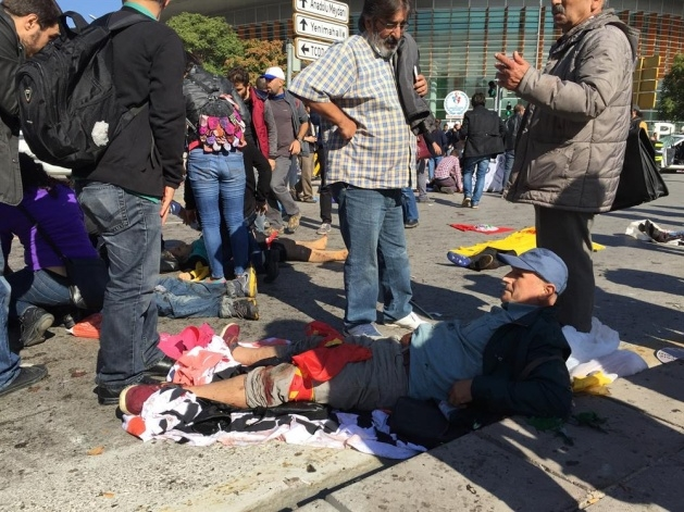 Ankara'da büyük patlama: Olay yerinden görüntüler 4