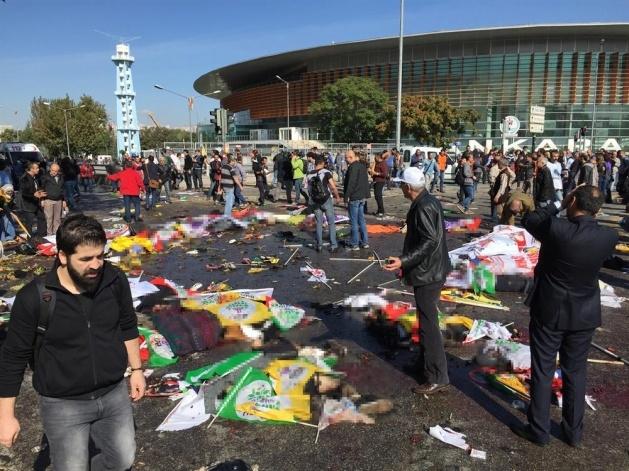 Ankara'da büyük patlama: Olay yerinden görüntüler 9