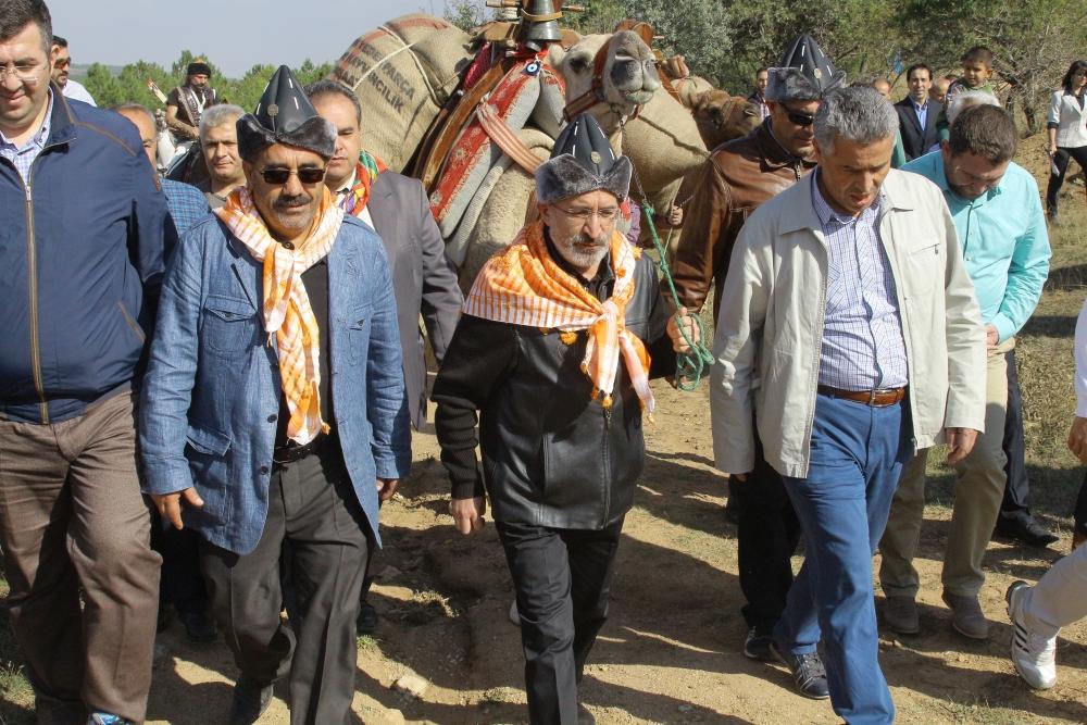 Konya'da Mazi'den Ati'ye ticaret kervanı yürüyüşü 11