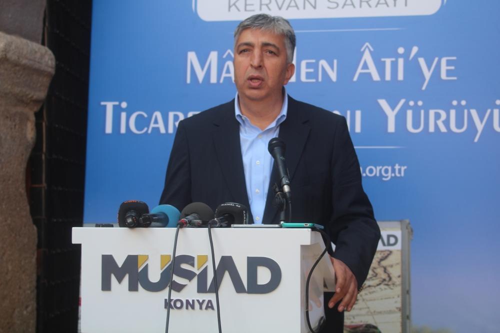 Konya'da Mazi'den Ati'ye ticaret kervanı yürüyüşü 18