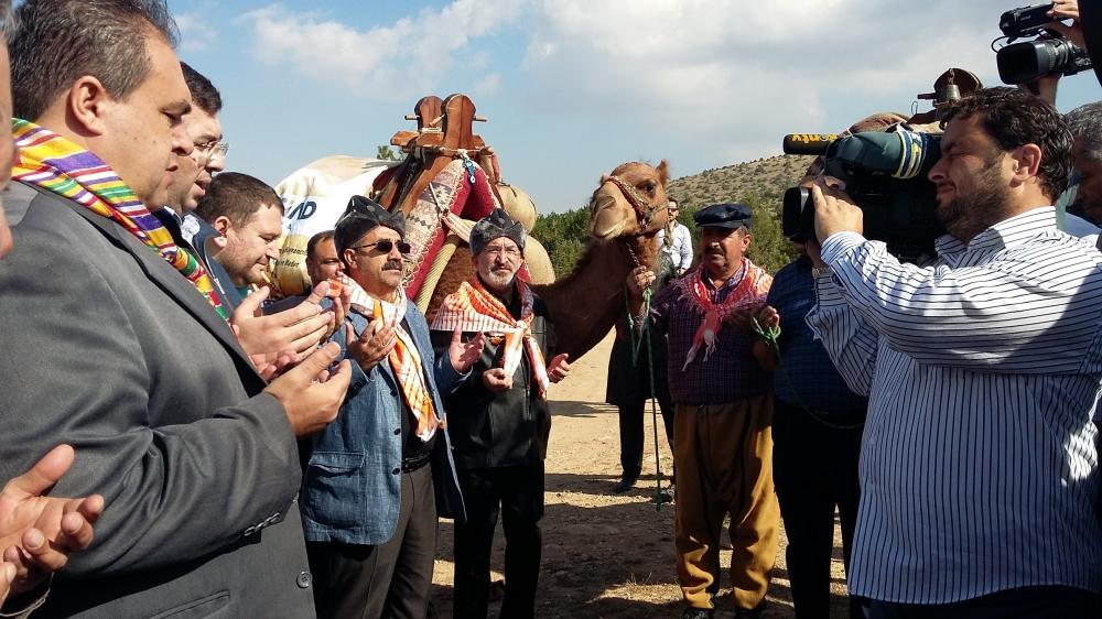 Konya'da Mazi'den Ati'ye ticaret kervanı yürüyüşü 22