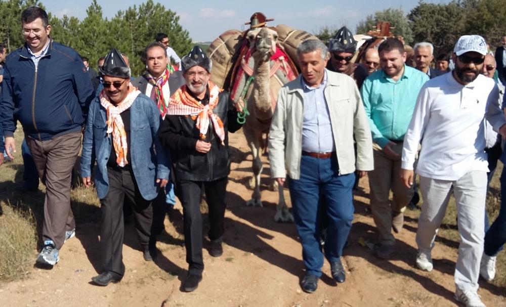 Konya'da Mazi'den Ati'ye ticaret kervanı yürüyüşü 23