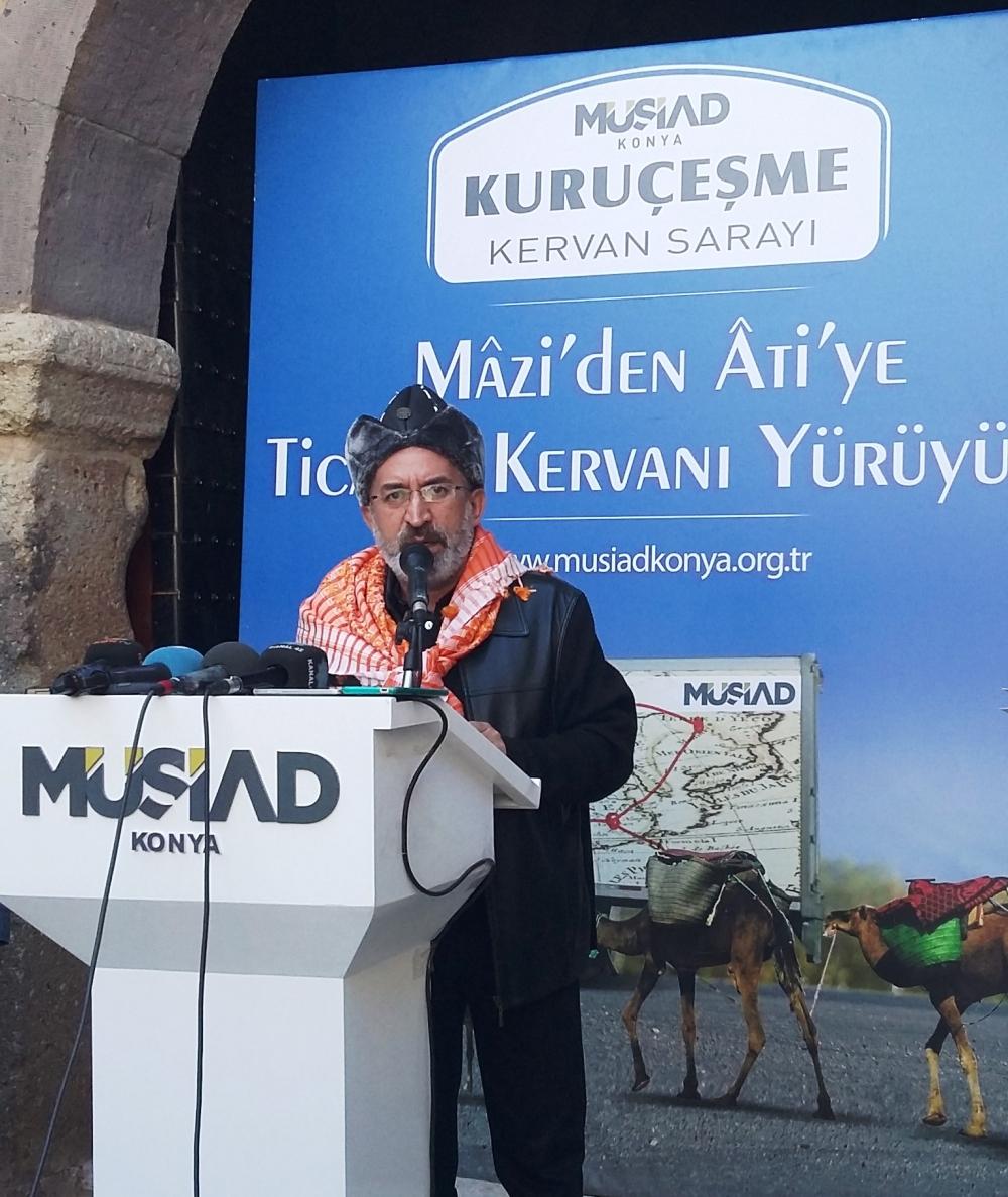 Konya'da Mazi'den Ati'ye ticaret kervanı yürüyüşü 26