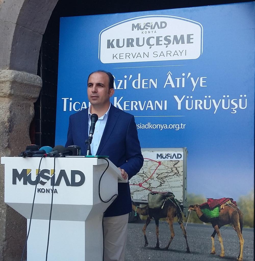 Konya'da Mazi'den Ati'ye ticaret kervanı yürüyüşü 27