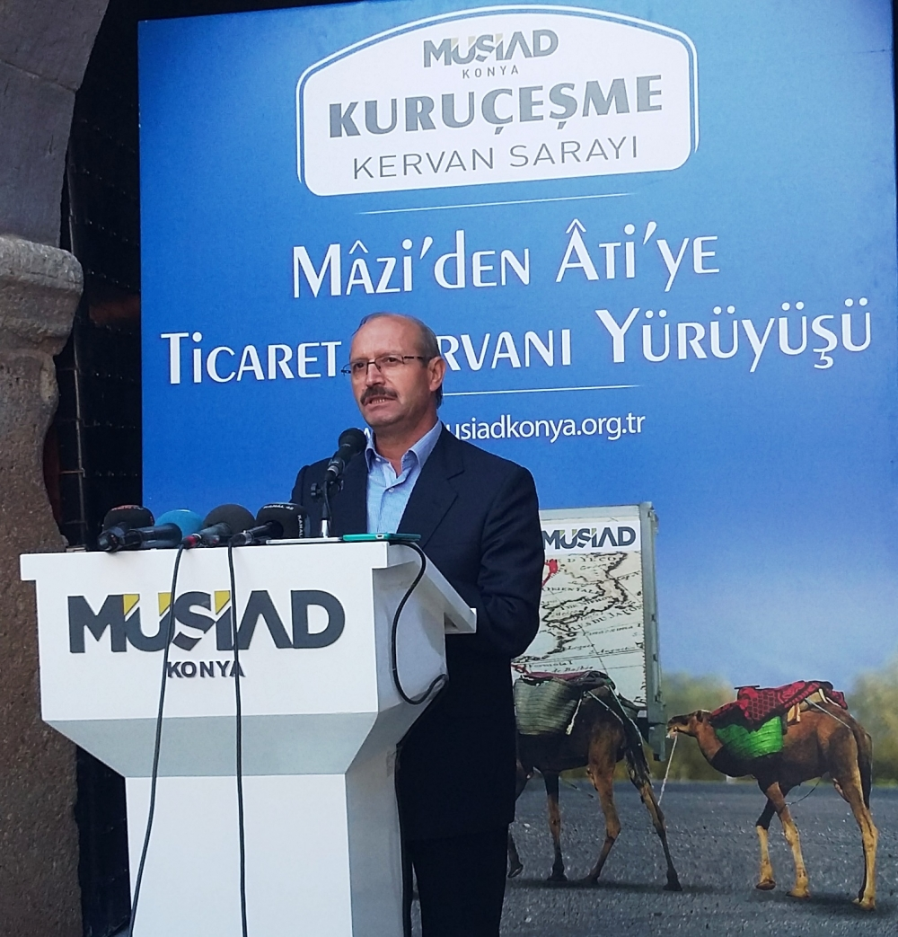 Konya'da Mazi'den Ati'ye ticaret kervanı yürüyüşü 28