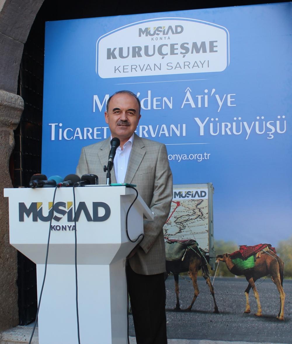Konya'da Mazi'den Ati'ye ticaret kervanı yürüyüşü 31