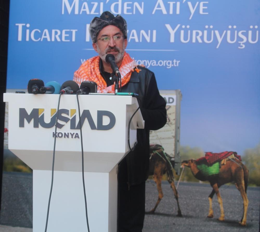 Konya'da Mazi'den Ati'ye ticaret kervanı yürüyüşü 39