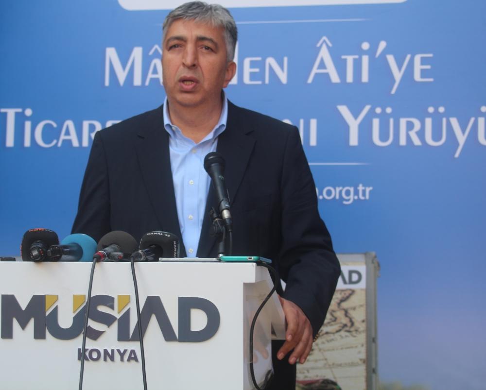 Konya'da Mazi'den Ati'ye ticaret kervanı yürüyüşü 40