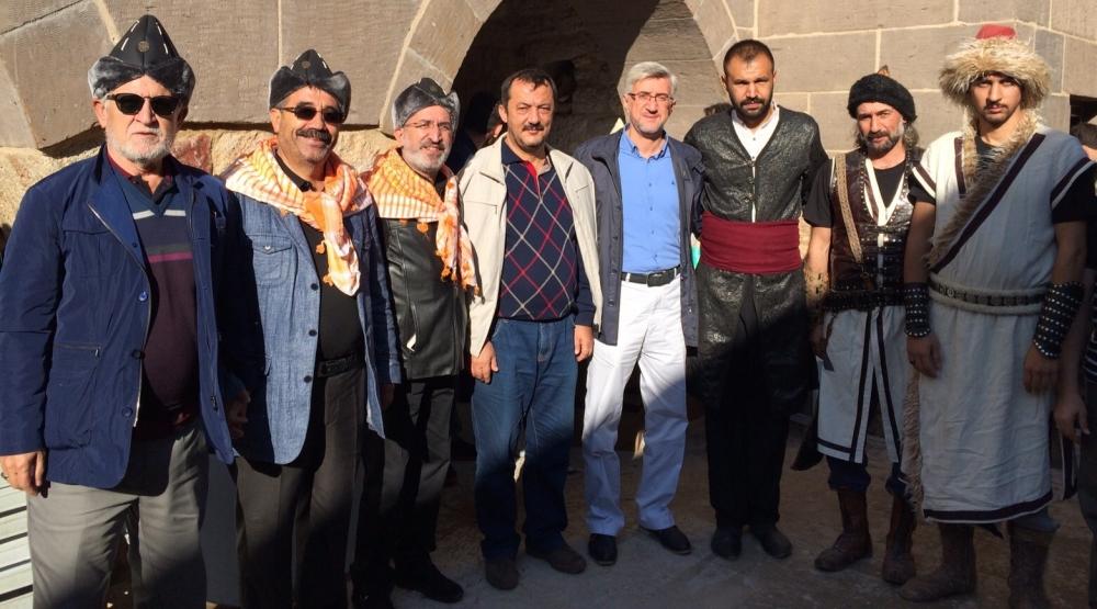 Konya'da Mazi'den Ati'ye ticaret kervanı yürüyüşü 42