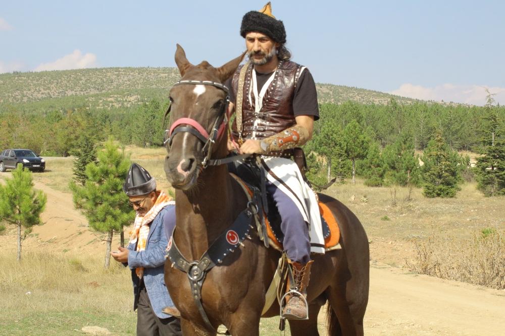 Konya'da Mazi'den Ati'ye ticaret kervanı yürüyüşü 5