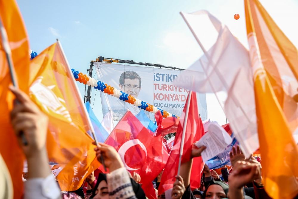 AK Parti'nin Konya mitinginden kareler 1