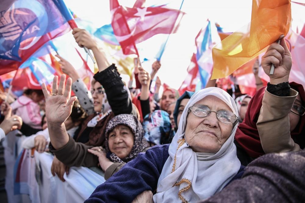 AK Parti'nin Konya mitinginden kareler 14