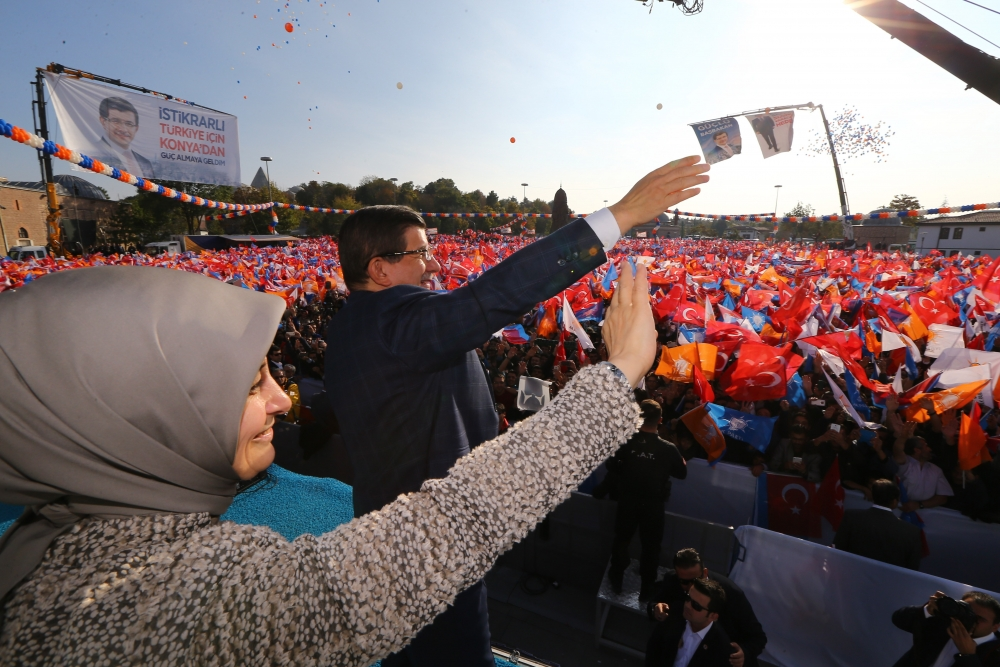 AK Parti'nin Konya mitinginden kareler 17