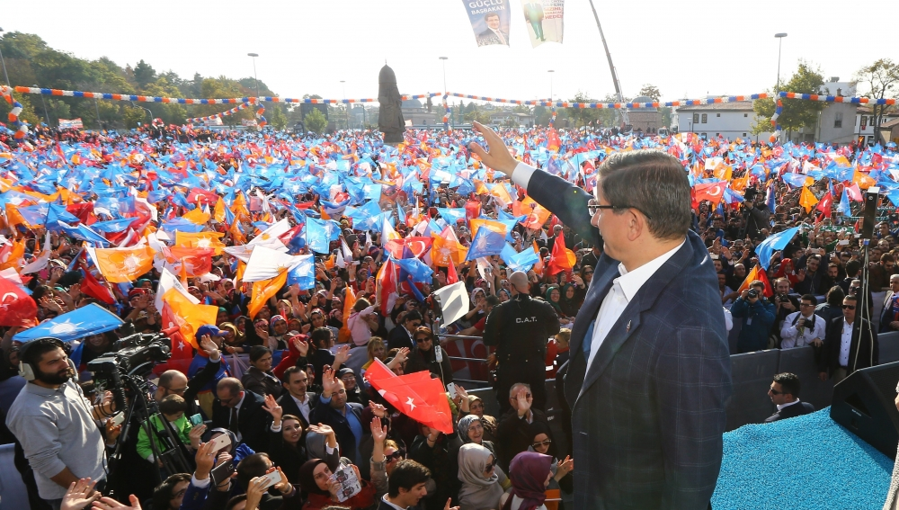 AK Parti'nin Konya mitinginden kareler 19