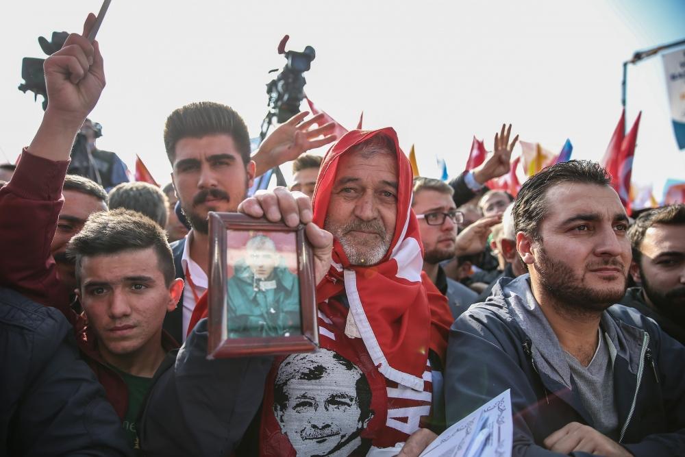 AK Parti'nin Konya mitinginden kareler 2