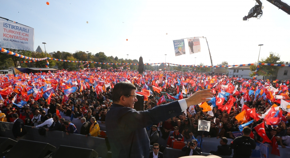 AK Parti'nin Konya mitinginden kareler 20