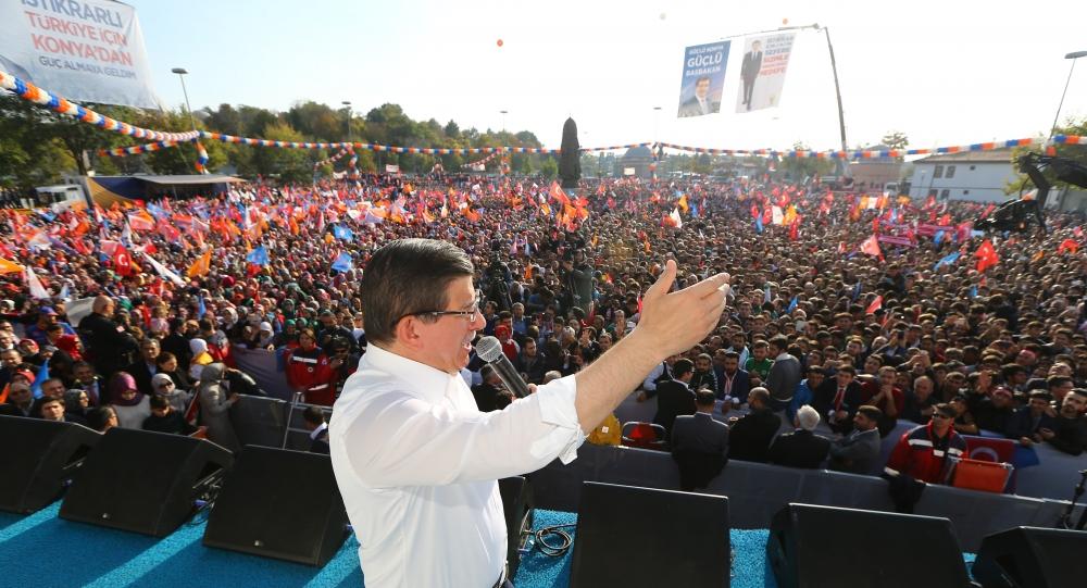 AK Parti'nin Konya mitinginden kareler 22
