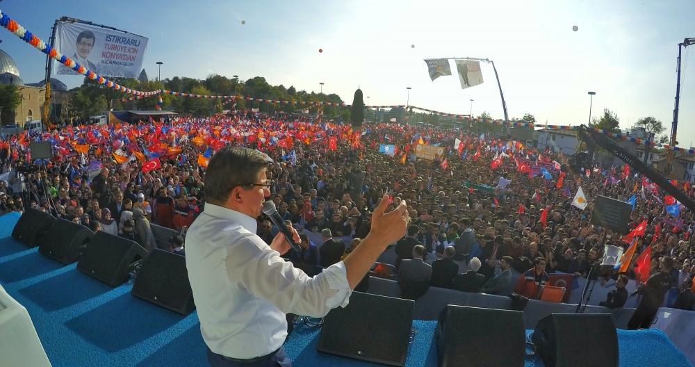 AK Parti'nin Konya mitinginden kareler 23