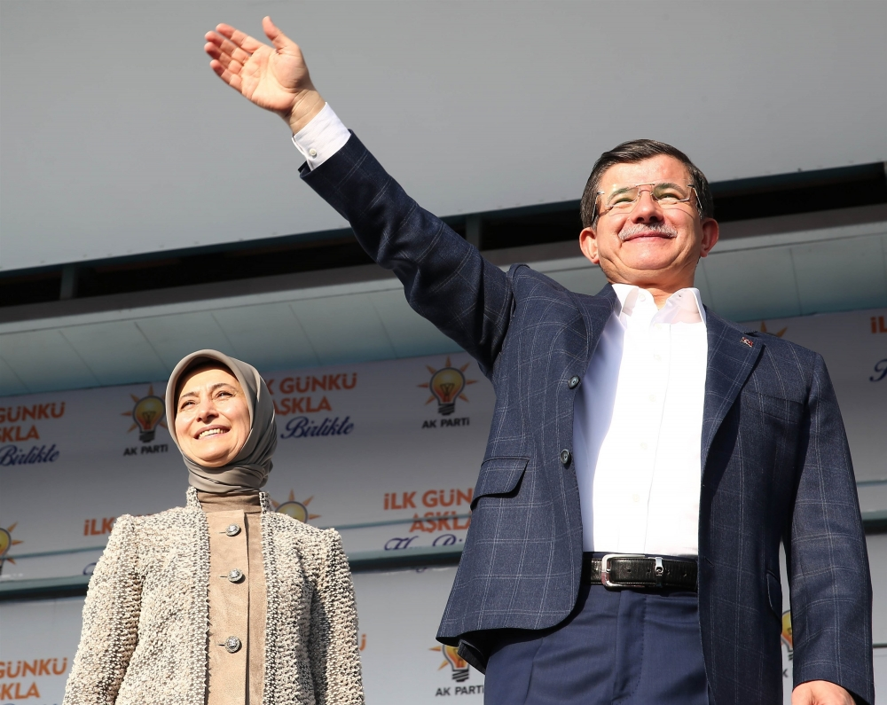 AK Parti'nin Konya mitinginden kareler 26