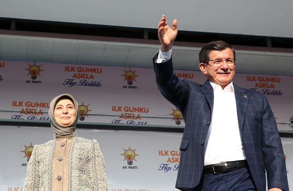 AK Parti'nin Konya mitinginden kareler 27